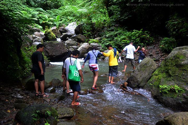 Trekking to Casaroro Falls