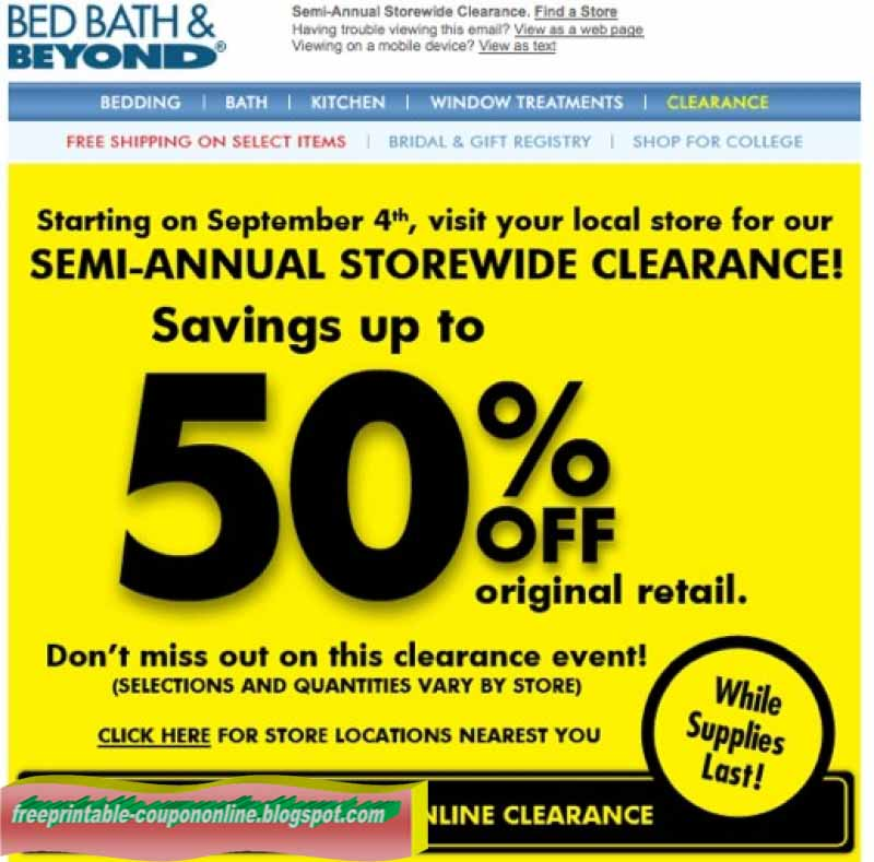 Dec 03,  · Join the Bed Bath & Beyond newsletter to receive both in store and online coupons. More Info» Once you join their newsletter, Bed Bath & Beyond will frequently send you unique 20% off one time use coupons to use online.