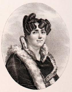 Caroline Branchu - Pierre-Roch Vigneron (1789-1872) (peintre), Charles Motte (1785-1836) (lithographe) - 1820 - Paris, Bn, département des Estampes.