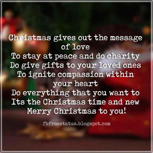 Christmas saying for cards and Christmas Photos