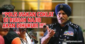 """Thumbnail image for """"Polis Makan Coklat Di Rumah Najib Akan Dihukum!"""" – PDRM"""