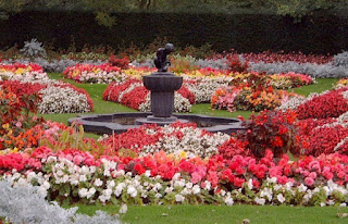 Tempat Wisata di London : Queen Mary's Garden