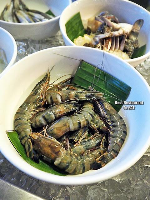 Kontiki Seafood BBQ Buffet Menu - Prawns