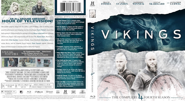 Vikings Season 4 Bluray Cover