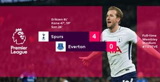 Video Tottenham Hotspur vs Everton Highlights Goals