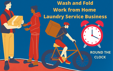 Work from Home-Laundry Service Business