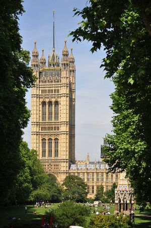 Victoria Tower Gardens, London