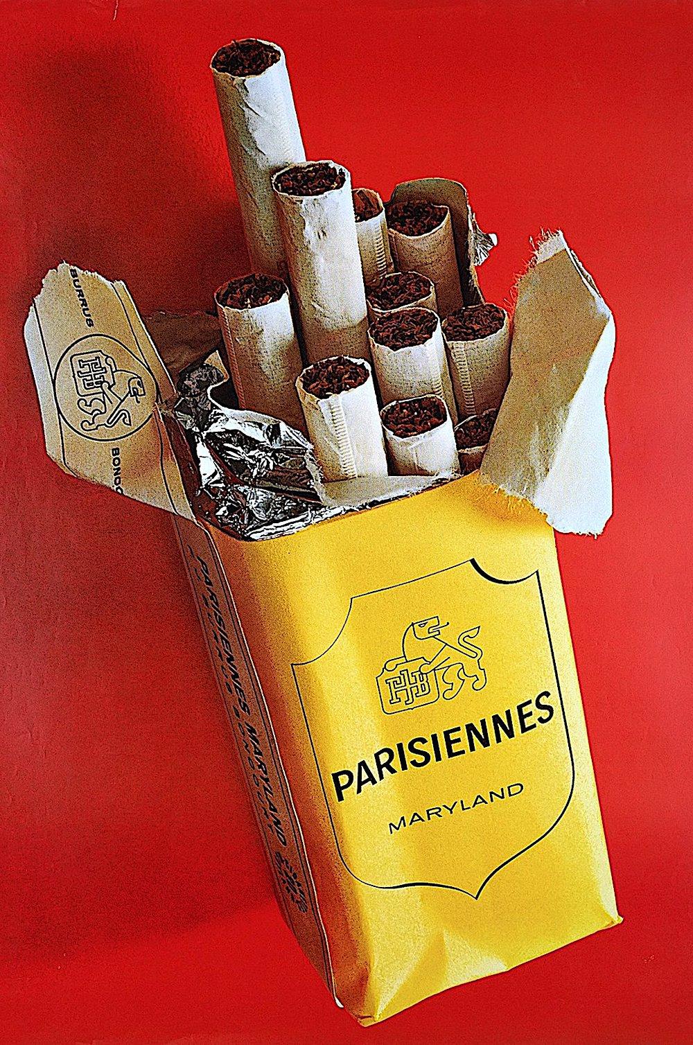 1965 Parisiennes cigarettes