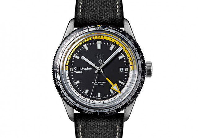 Christopher Ward C65 GMT Worldtimer