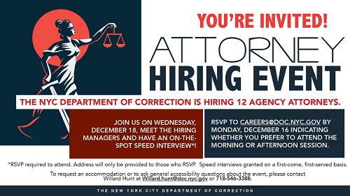 NYC Gov Attorney Jobs