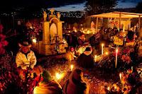 Dia de Muertos en Oaxaca parecido a obon japon