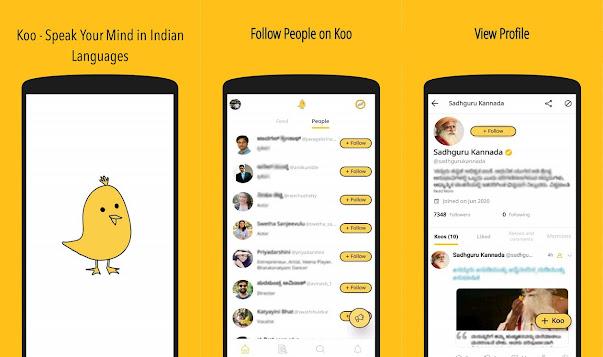 تنزيل تطبيق koo بديل تويتر في الهند للاندرويد والأيفون 2021