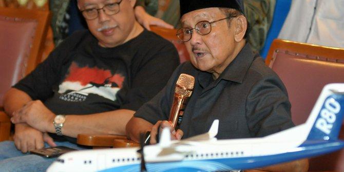 Ini 4 Karya BJ Habibie yang Bikin Bangga Indonesia