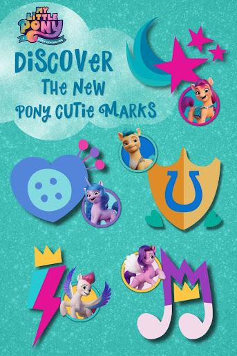 Generation 5 MLP Cutie Mark Sheet Guide My Little Pony: A new Generation