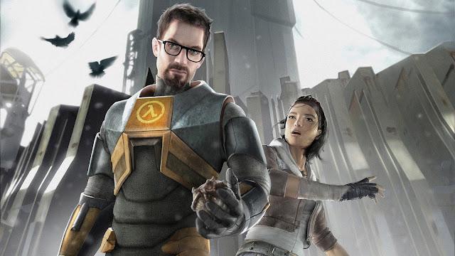 Gordon Freeman & Alyx Vance - Half-Life 2