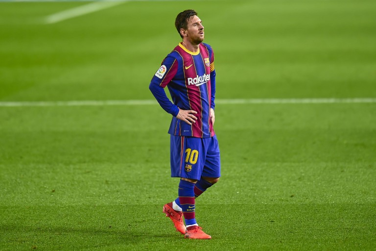 FOOTBALL - FC Barcelona: Lionel Messi's new incendiary exit