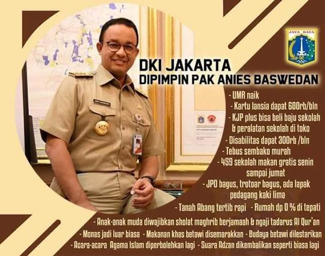 Kado 2 Tahun Pimpin Jakarta, Anies Terima Penghargaan Top 45 Inovasi Pelayanan Publik