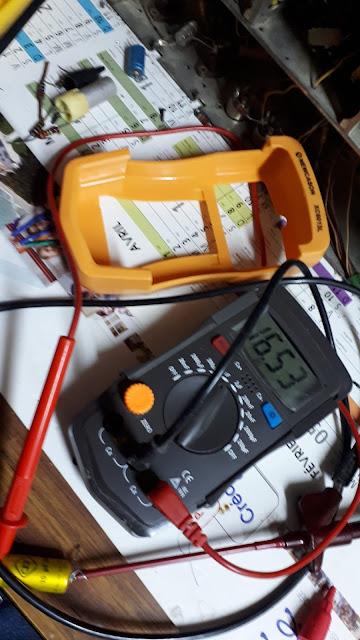 reparación del capacímetro  XC6013L esquema  DL6013L
