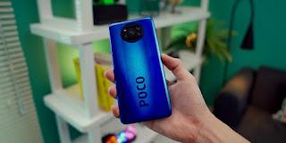 Poco X3 NFC Gambar belakang