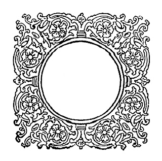 frame decorative scrapbooking clipart flourish design