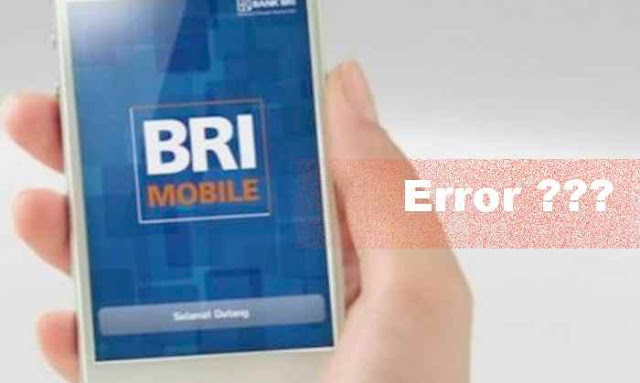 tidak dapat masuk ke akun BRI Mobile di HP
