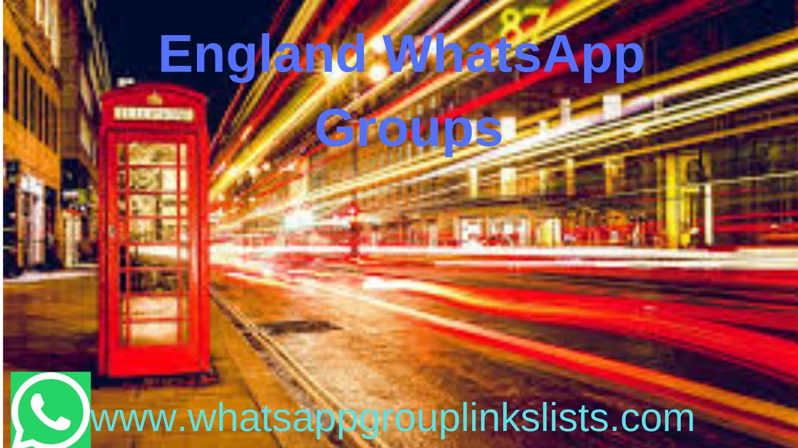 Join England WhatsApp Group Links list