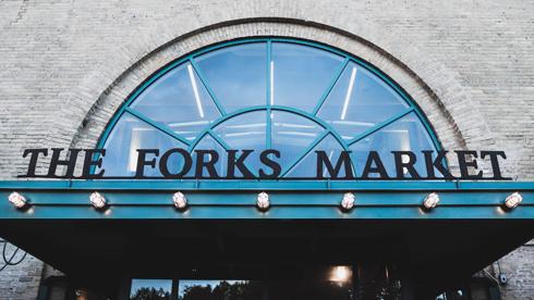 Forks Market Winnipeg Manitoba Food