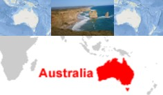 letak geografis dan astronomis benua australia