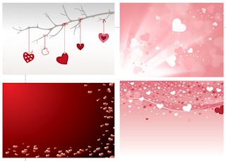 Desain Kartu Ucapan Valentine 2016 CDR