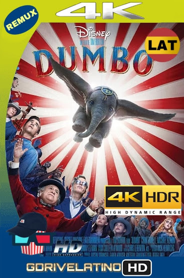 Dumbo (2019) BDRemux 4K HDR Latino-Ingles MKV