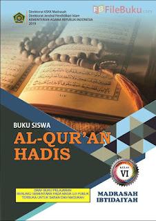 Buku Al-Quran Hadis Siswa MI Kelas 6-VI Kurikulum 2013 Revisi 2019