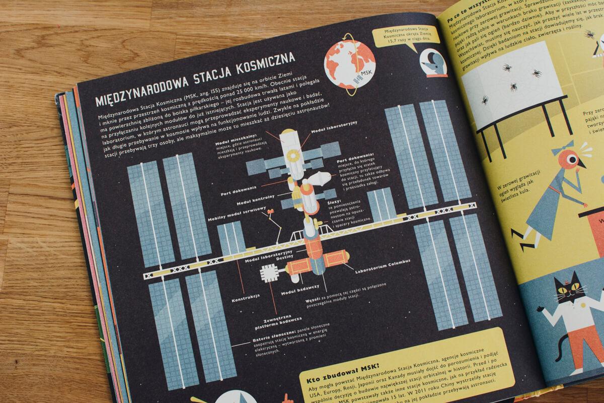 Książka Profesor Astrokot książka dla dzieci o kosmosie