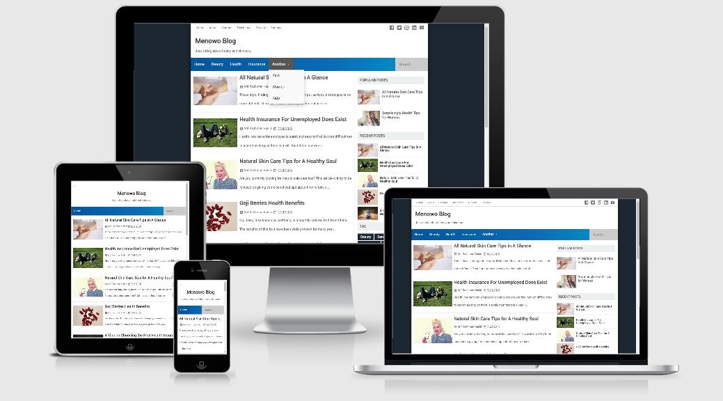 Menowo V3 Premium Blogger Template