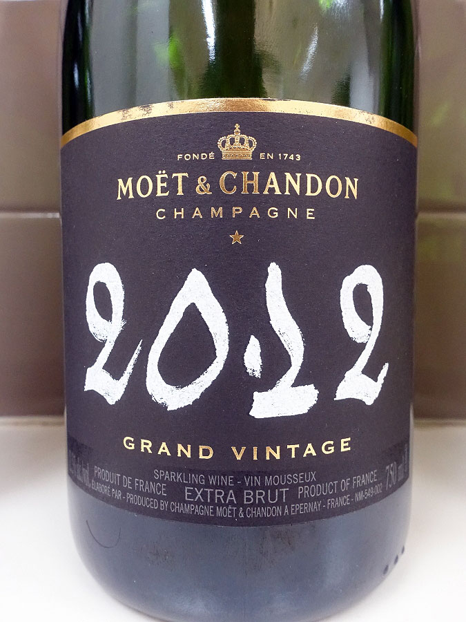 Moët & Chandon Grand Vintage Extra Brut Champagne 2012 (92 pts)