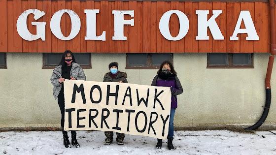 Oka indigenous ancestral lands sovereignty native Mohawks aboriginal