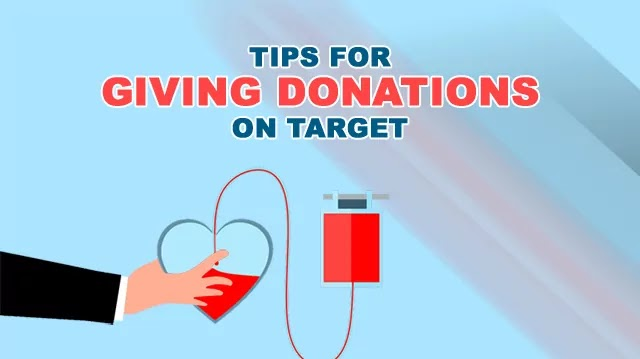 Tips for Giving Donations on Target