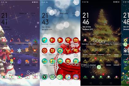 7 Tema Premium Christmas Terbaik untuk OPPO & Realme