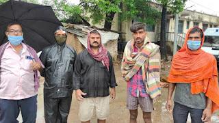 भोजपुर में यास का असर : खपरैल घर गिरने से स्टांप विक्रेता की मौत