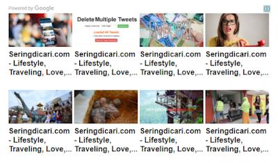 Cara Menghilangkan Nama Blog di Iklan Matched Content Terbaru
