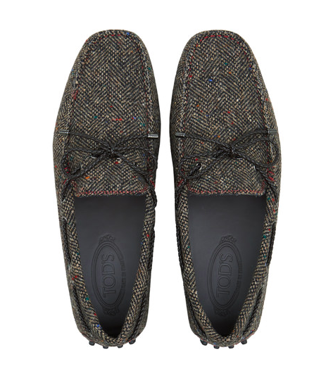 Mocasines Gommino Tod's de Tweed