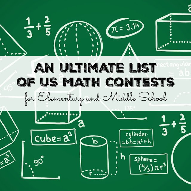 An Ultimate List of US Math Contests for Elementary and Middle School