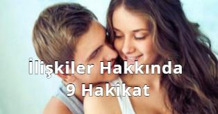 İlişkiler Hakkında 9 Gercek