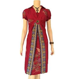 Para Desainer Maupun Seniman Batik Modern Model Baju Batik Wanita