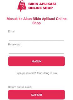 Aplikasi pembuat toko online gratis