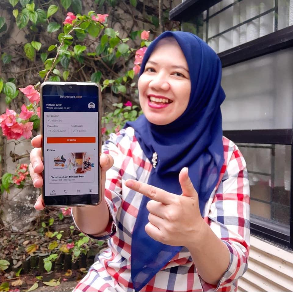 Traveling Hemat dengan Pengalaman Seru Menginap Nginep di Hostel Pilih BestHostels Indonesia Nurul Sufitri