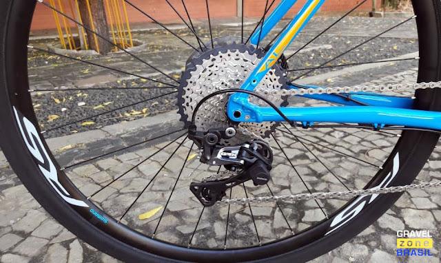 Audax Bike Pampero Gravel Alumínio câmbio traseiro