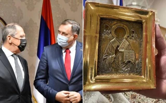 Росія поверне подаровану Лаврову старовинну українську ікону для перевірки її походження