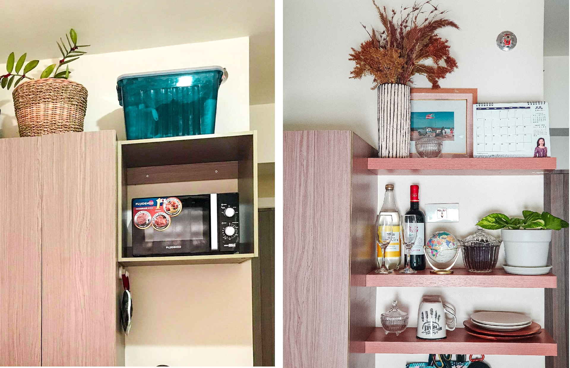 DIY Home: Kitchen Shelves