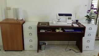 Machine set up