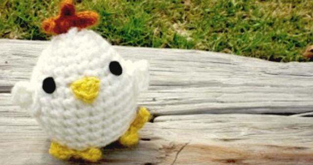 como tejer una gallina crochet amigurumi patron gratis